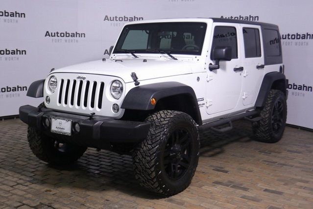 Pre-Owned 2016 Jeep Wrangler Unlimited Sport SALE PENDING