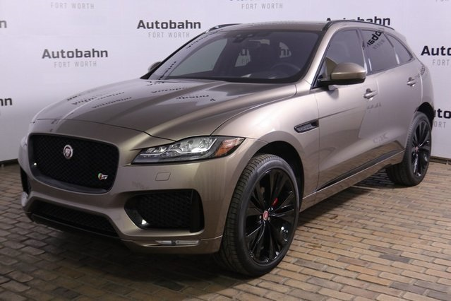 Certified Pre-Owned 2017 Jaguar F-PACE S