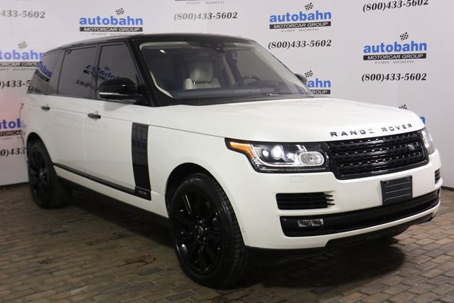 Land Rover Fort Worth >> Certified Pre Owned 2017 Land Rover Range Rover Sale Pending 4wd
