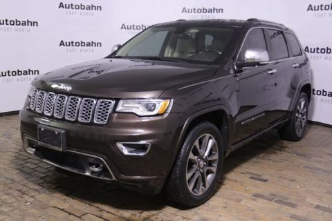 Pre-Owned 2017 Jeep Grand Cherokee Overland RWD 4D Sport Utility