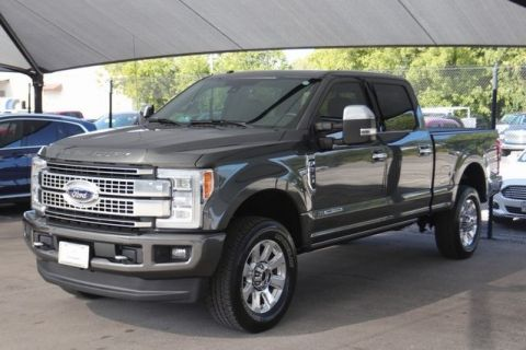 Pre-Owned 2018 Ford F-350SD Platinum